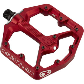 Crankbrothers Stamp 7 Small Pédales, red